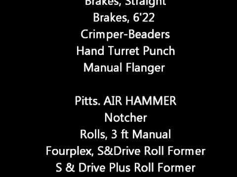 Tin Knocker Sheet Metal Equipment