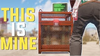 Rust - TAKING ALL of the CHINOOK CRATES (Rust PvP Highlights & More)