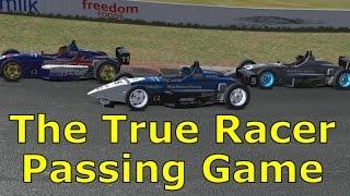 True Racer Passing Game | iRacing Gameplay