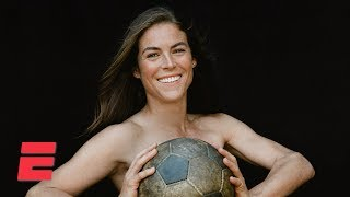Kelley O'Hara in the Body Issue: Behind the scenes | Body Issue 2019