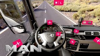 The new MAN TGX Interior – Virtual Reality Experience