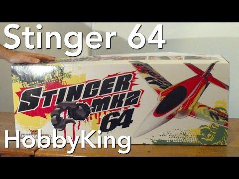 Stinger 64 MK2 4S EDF. EPISODE 1: Unofficial Unboxing.