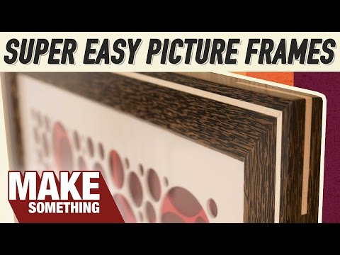 Easy and Beautiful Picture Frames Any Woodworker Can Make