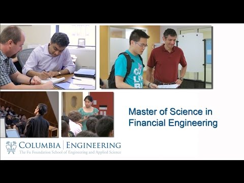 Columbia Engineering Masters Financial Engineering NYC