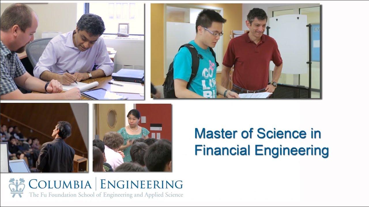 MS in Financial Engineering (MSFE) | Industrial Engineering