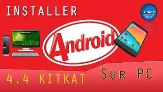 Comment Installer Android 4.4 KitKat Sur PC Avec Virtual Box | Tutorial 2014