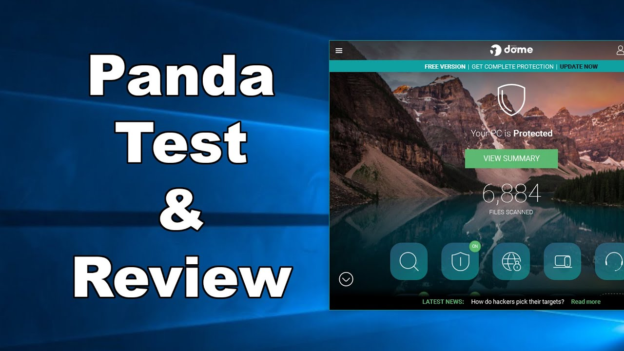 Panda FREE Antivirus Test & Review 2019 - Antivirus Security Review