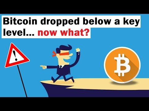 Bitcoin Dropped Below A Key Level... Now What?