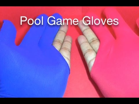 Pool Game Gloves