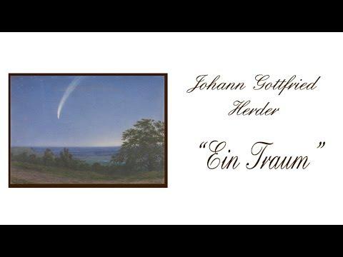 """Johann Gottfried Herder """"Ein Traum"""" I"""
