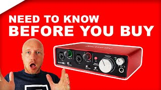 Focusrite Scarlett 2i2 review (and unboxing): AMAZING??
