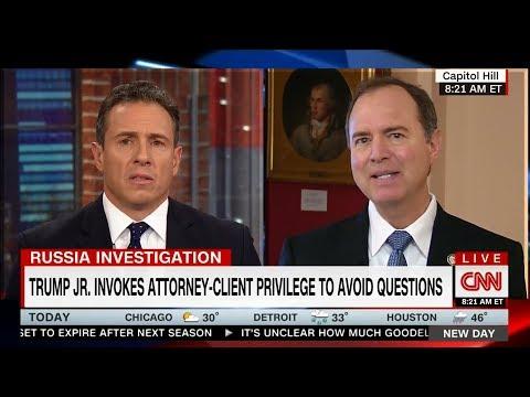 Rep. Schiff Discusses Trump Jr.'s Meritless Claim of Attorney-Client Privilege on CNN