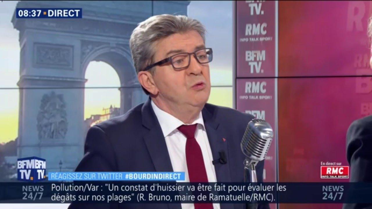 Jean-Luc Mélenchon souhaite gagner les européennes et en faire un référendum contre Macron
