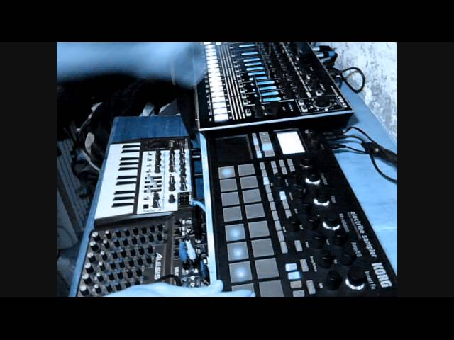 BGR - Jam Cut Pt 2 - Electribe Sampler Microbrute TR-8 Deep House Techno Dub Tech