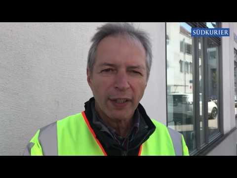 Polizeisprecher Walter Roth zum Banküberfall in Waldshut