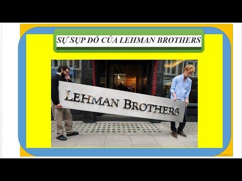 Lehman Brothers sụp đổ.