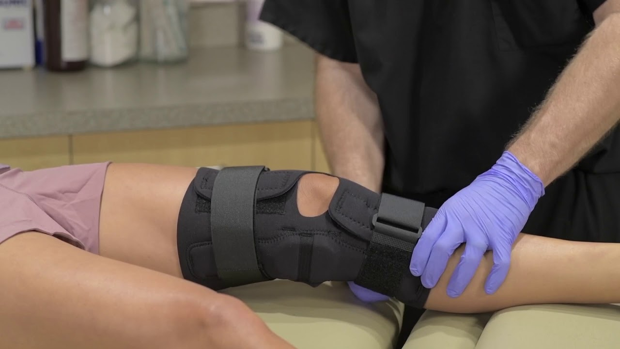 The Complete Wrap Hinged Knee Brace