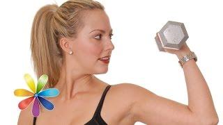 Как вернуть рукам форму. Комплекс упражнений для похудения рук от Аниты Луценко - Лучшие советы