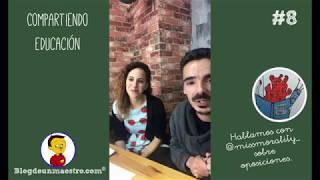 Compartiendo Educación - Entrevista sobre oposiciones