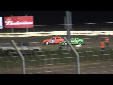 Lee County Speedway Sport Compact Heat 1 10/25/2014