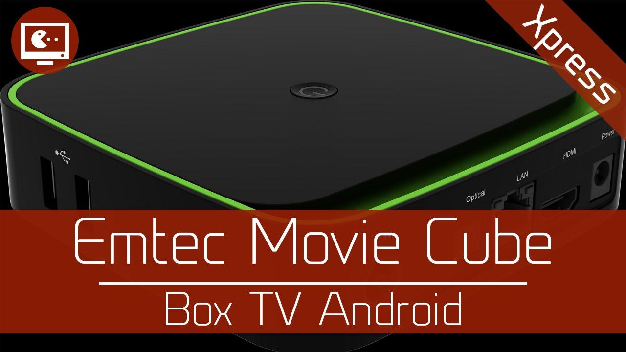 e1bfa08e9 Test'Xpress : Emtec Movie Cube - Box TV Android - YouTube