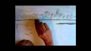 "Speed drawing of ""Wetlands"""