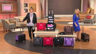 Weekender Bag with Snap-In Toiletry Case by Lori Greiner with Carolyn Gracie