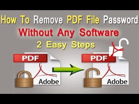 How To Remove Password From PDF File Without Any Software || Unlock PDF File || By Digital Bihar |