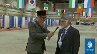 Dr. Hameed ur Rehman LA  - interview at Jalsa USA 2018