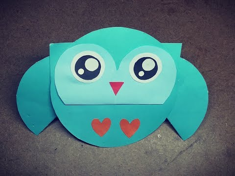 Easy Origami Owl tutorial | Paper Owl |  DIY For Kids