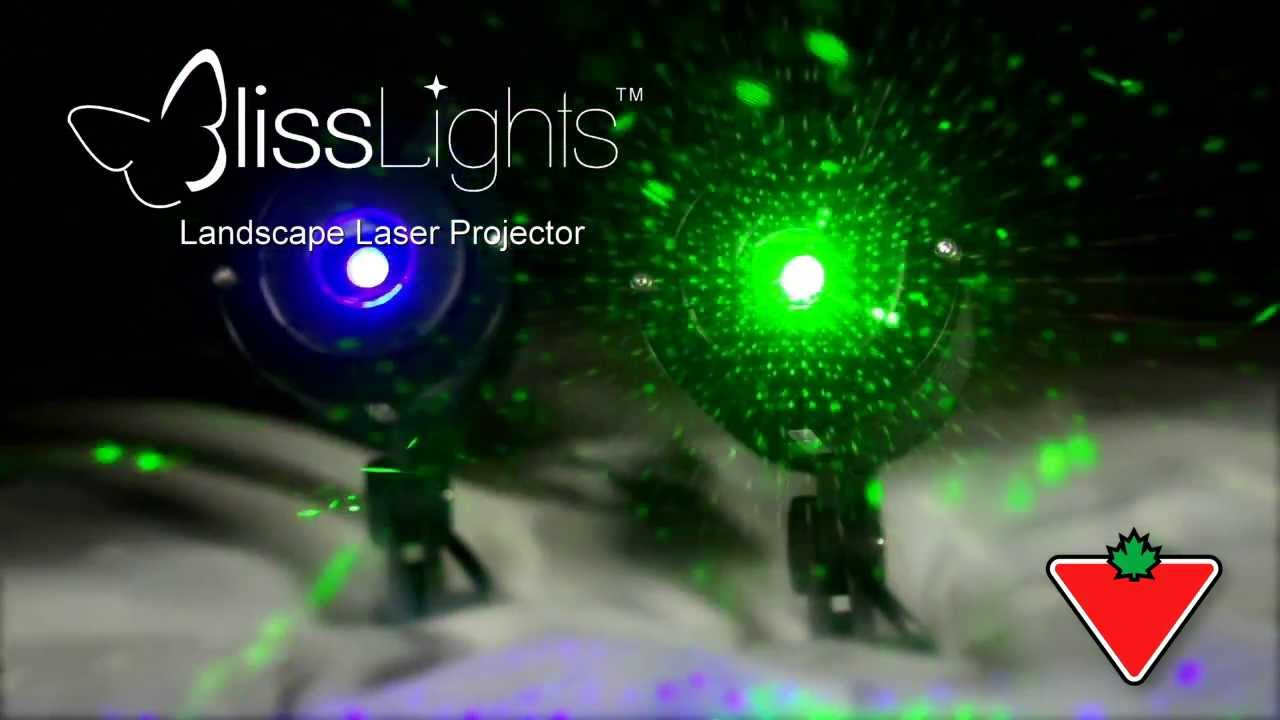 Bliss Laser Light From Canadian Tire - YouTube