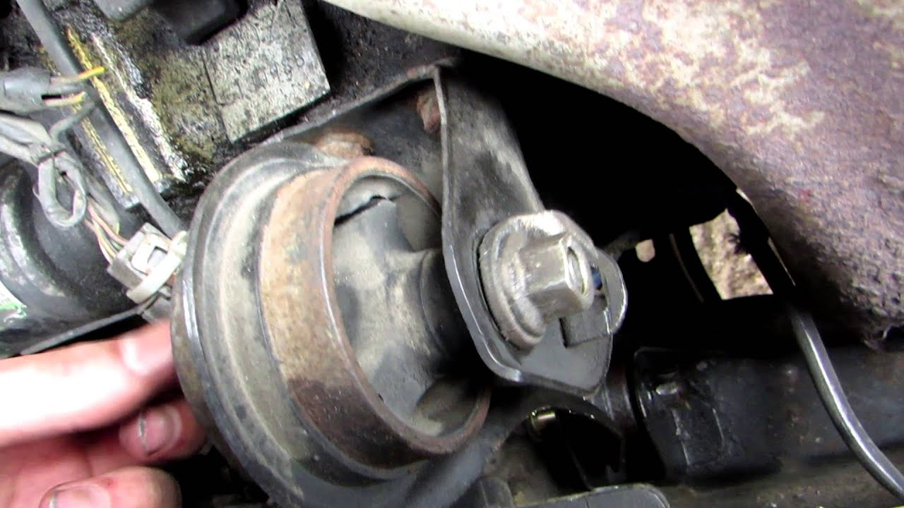 Fuel Filter On 1990 Honda Accord How To Replace The Front Motor Mount On A Honda Accord
