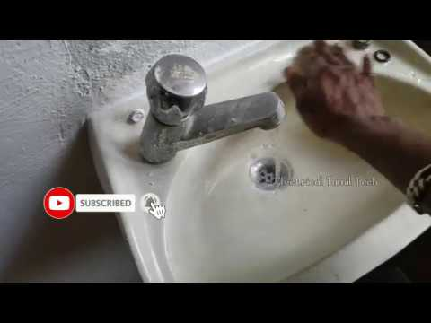 Wash basin fitting and install in | Tamil