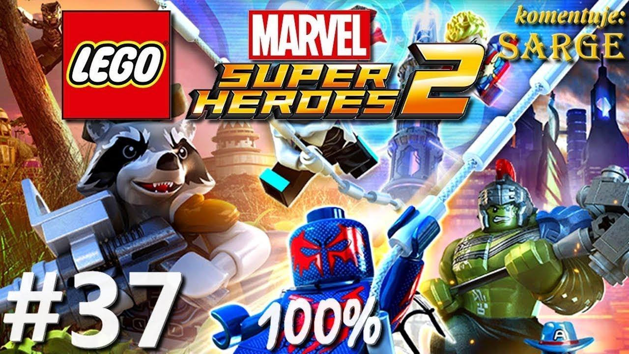 Zagrajmy w LEGO Marvel Super Heroes 2 (100%) odc. 37 – Czarno to widzę 100%