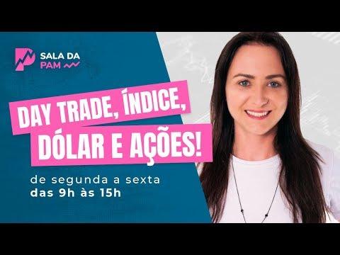 SALA DA PAM- Day Trade ao vivo- Índice, Dólar- 17/10/2019
