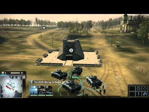Tom Clancy's Endwar : World War III - Europe - Part 1