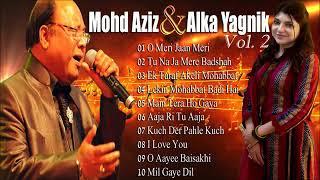 Supehit Duets Of Mohd Aziz & Alka Yagnik | Evergreen Romantic Hindi Songs | Vol. 2