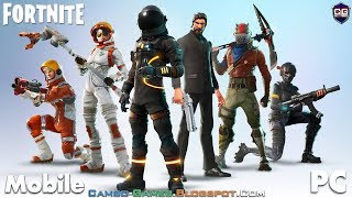 Fortnite Mobile Gameplay Android/iOS/Windows/Mac (Download Links)