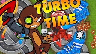 MOAB PIT PARTY - Bloons TD Battles TURBO TIME