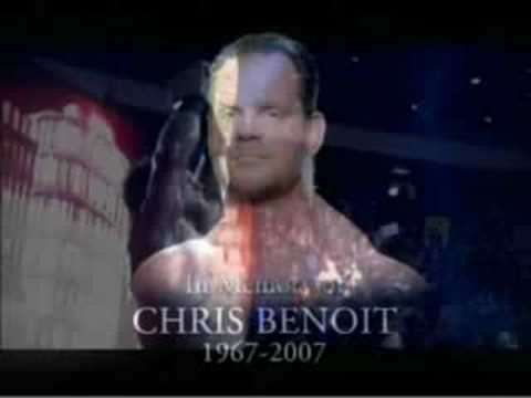 Chris Benoit Official Tribute from WWE Raw 25-06-2007