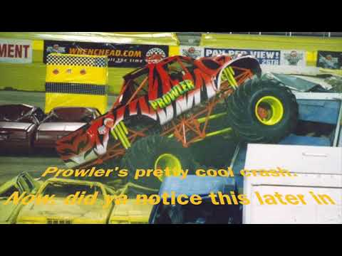 Monster Jam World Finals 1 (lost footage of freestyle runs