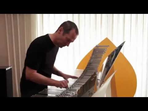 Cliff Martinez Playing the Crystal Baschet