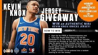 WIN A Kevin Knox Knicks Jersey!!!| Knicks Team Season Award Predictions| KnicksFanTV