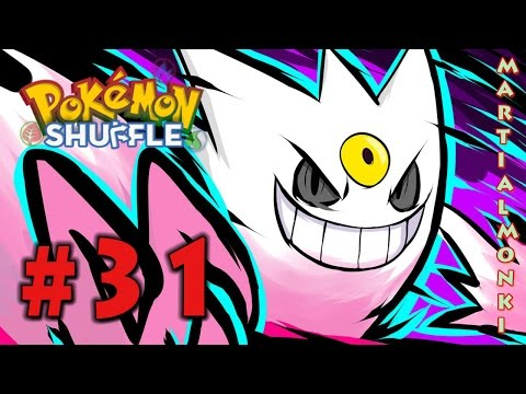 Mega Gengar Is Too Cool - Let's Play Pokemon Shuffle Part 31 (Nintendo 3DS)