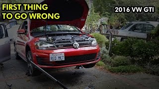homepage tile video photo for First Thing to Go Wrong in My MK7 GTI