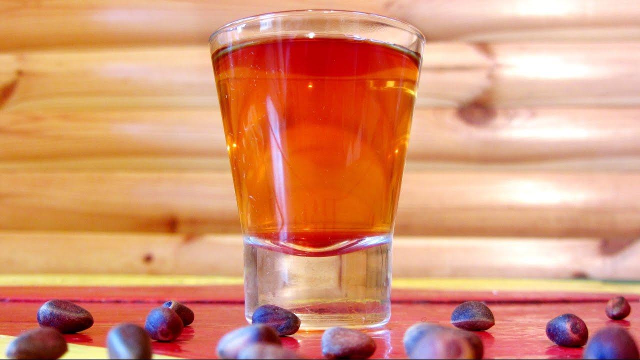 Водка на скорлупе кедровых орешках рецепт 65