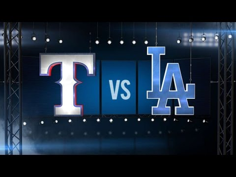 6/18/15: Dodgers walk off on balk to top Rangers, 1-0