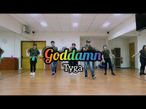 Goddamn -Tyga Choreography By Asbarebare  ZUMBA  FITNESS  DANCE  At PHKT Balikpapan