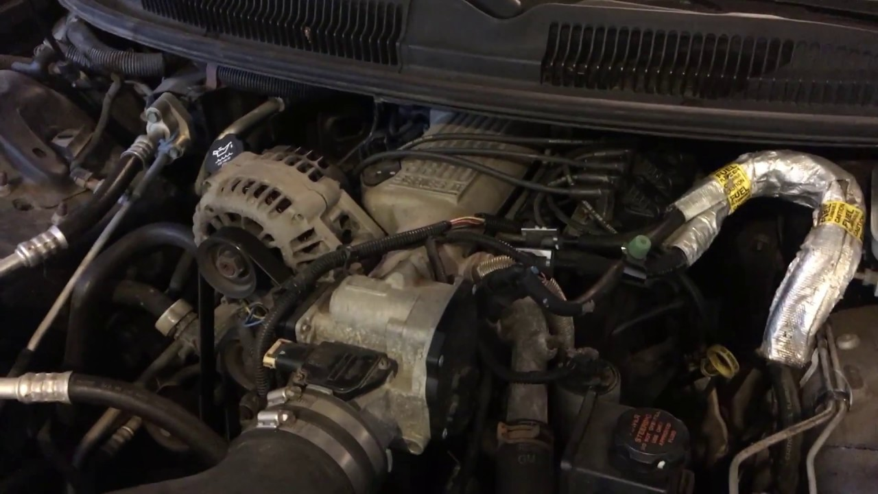 Changing Oil  Spark Plugs And Wires On A 02 Camaro 3 8  V6
