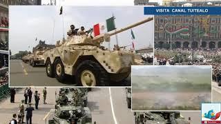 Desfile Militar 16 de Septiembre Día de la Independencia de México Zócalo CDMX 2018 Peña Nieto 2